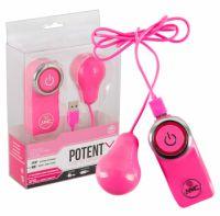 Ou vibrator cu telecomanda si USB Potent X sex shop tabu love
